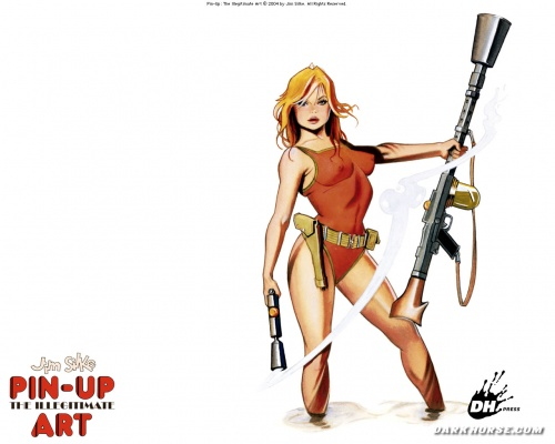 Comics Pin-Up (59 работ)