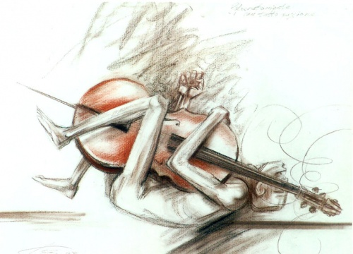 Мастера современной графики - Арлен Кашкуревич (98 работ)