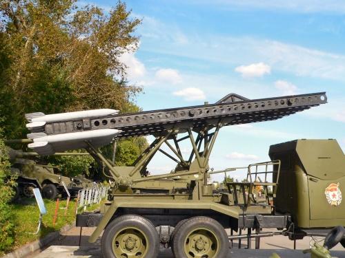 Советский реактивный миномет БМ-13Н Катюша (96 фото)