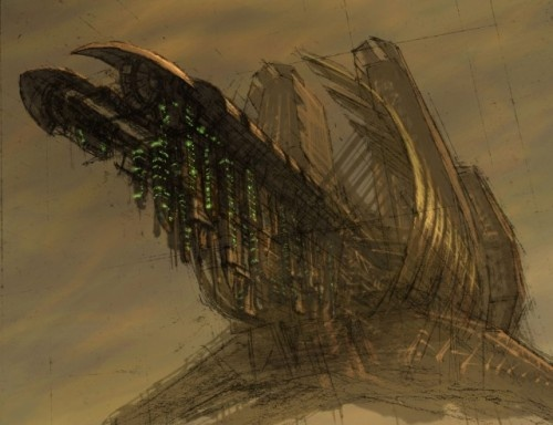 Dead Space. Arte Conceptual (49 работ)