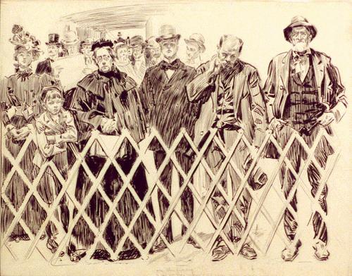 Charles Dana Gibson (1867-1944) (77 работ)