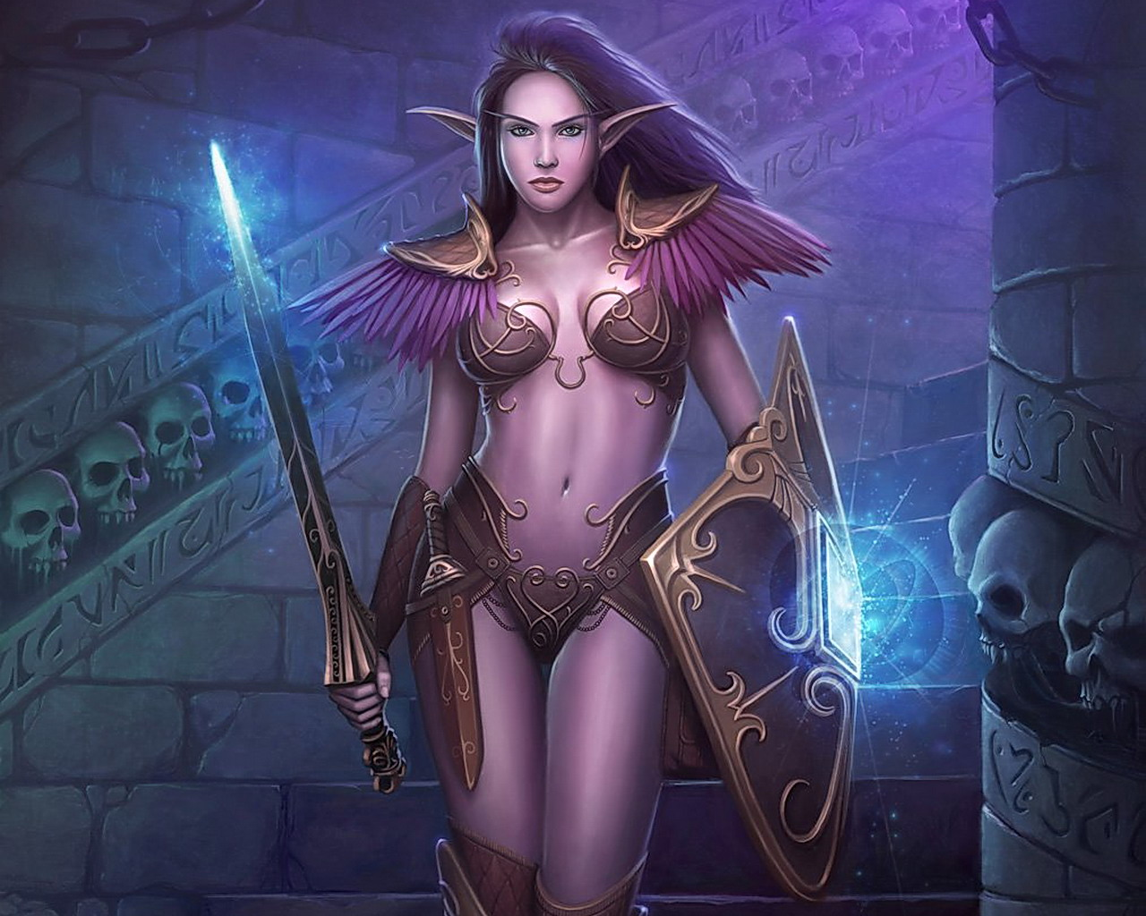 Busty lesbian shemale world of warcraft hentia naked movie