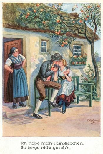 German postcard \ Немецкая открытка начала хх века (70 открыток)