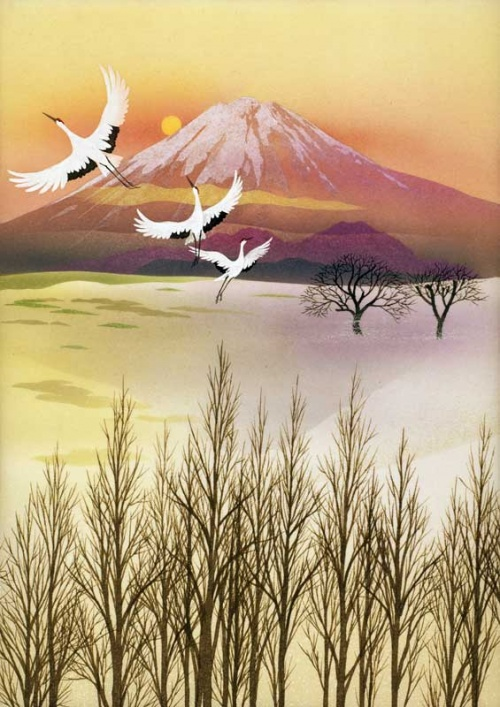 Японский художник Enda Kazunari (20 работ)