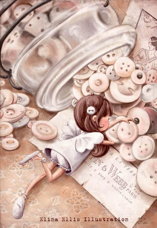 Художник - иллюстратор Elina Ellis (102 работ)