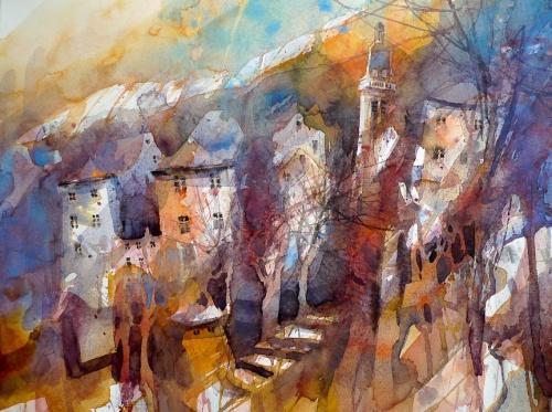 Watercolor by Eric Laurent (21 работ)