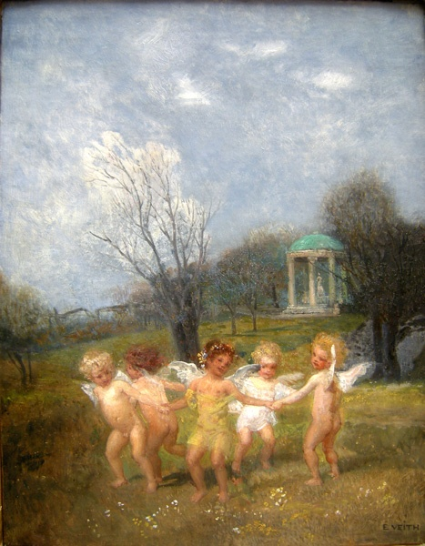 Австрийский художник Eduard Veith (1856-1925) (88 работ)