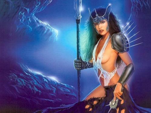 Богиня войны (330 работ)