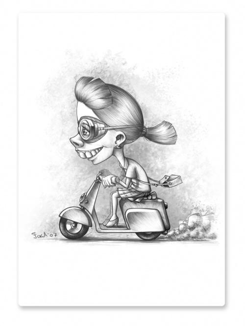 Иллюстратор Гога Джалагания (71 работ)