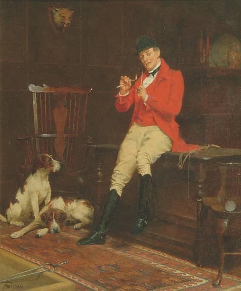 Английский художник John Arthur Lomax (1857-1923) (52 работ)