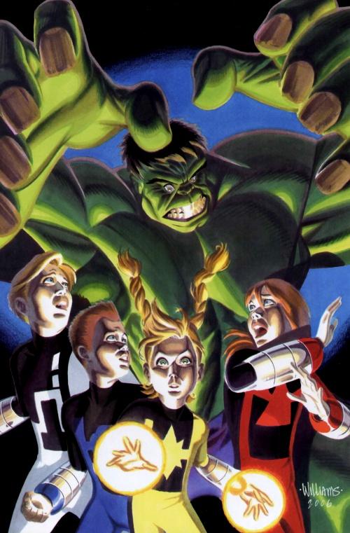 Hulk Poster Book (41 работ)