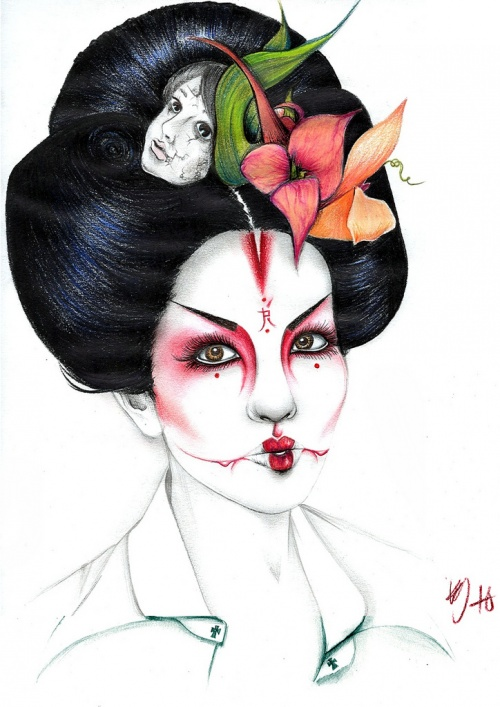 Kelly Durette Art (100 работ)