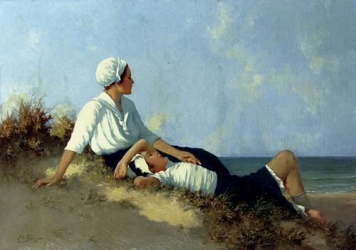 Немецкий художник Hermann Seeger (1857-1945) (36 работ)
