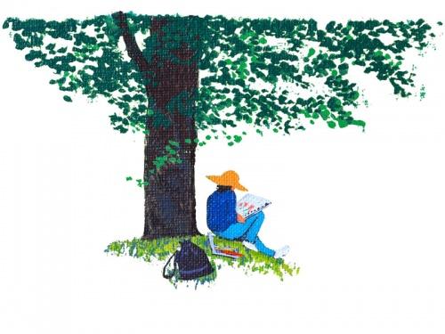 Японский художник Isoda Mitsuo (30 работ)