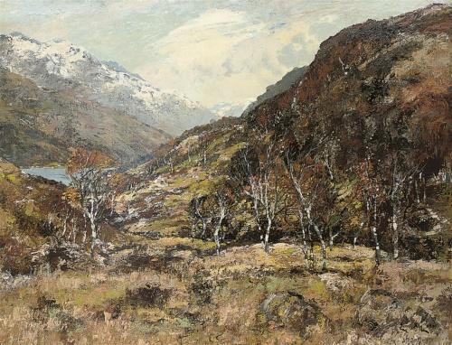 Британский импрессионизм - Джеймс Кэй (65 работ)