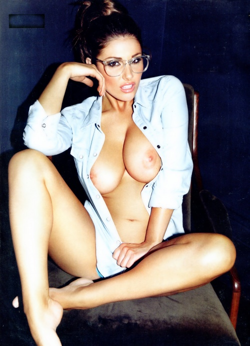 Lucy Pinder - Official Calendar 2012 (13 фото)