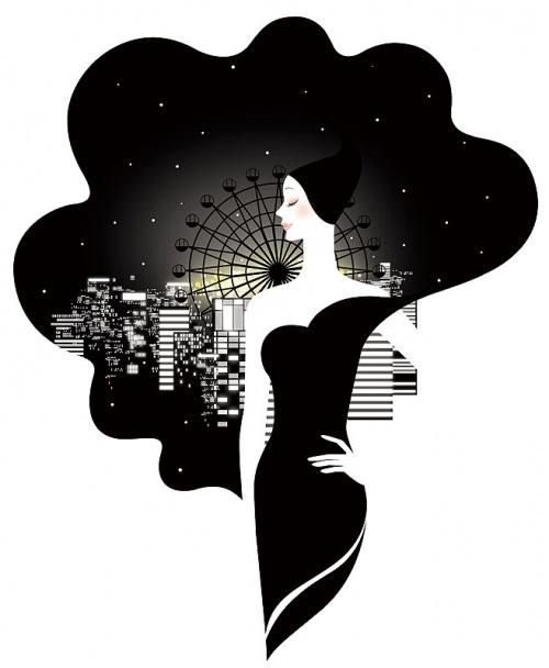 Японский художник Miyoko Iwasaki (123 работ)