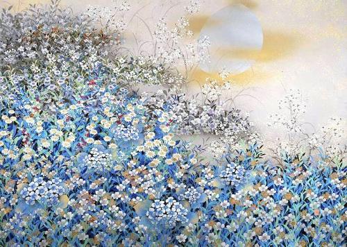 Modern works by Japanese artists  Современные японские художники (71 работ)