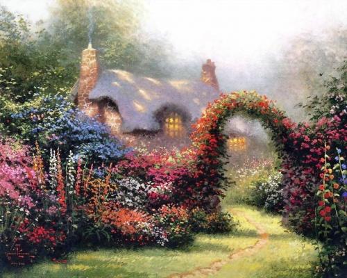 Живопись - Творчество Томаса Кинкейда (133 работ)