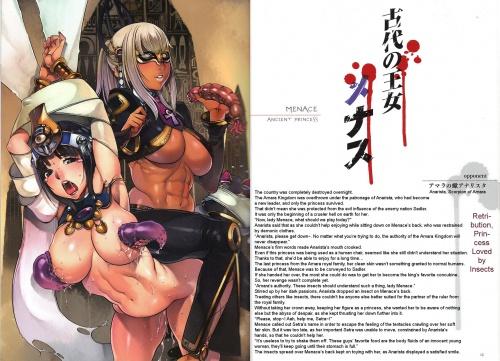 Queen's Blade Rebellion - Vanquished Queens (33 работ)