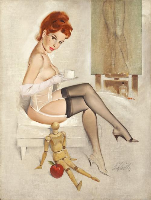 Карточки с сексуальными девушками - Пин-ап (14 работ)