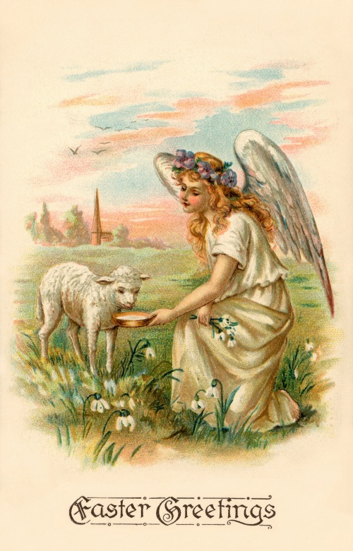 Easter card 1st half of the twentieth century \ Пасхальная открытка 1-ой половины ХХ века (59 работ)