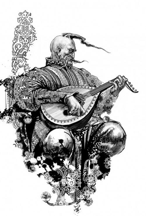 Российский фентези иллюстратор Руслан Свободин (87 работ)
