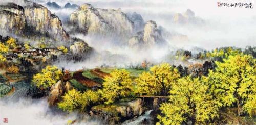 Художник Zhao Wuchao