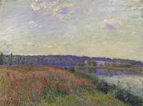 Альфред Сислей - мастер лирического пейзажа (480 работ) (1 часть)