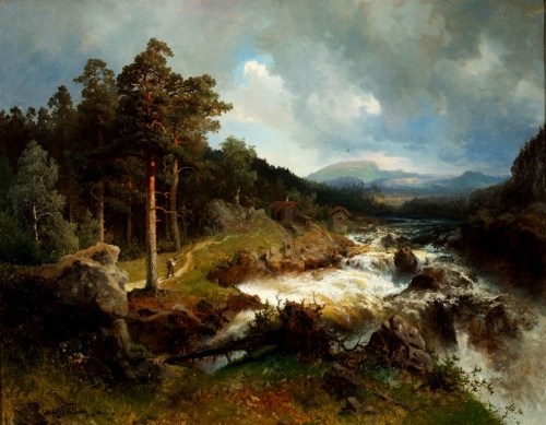 Шведский художник Alfred Wahlberg (Альфред Валберг) (41 работ)