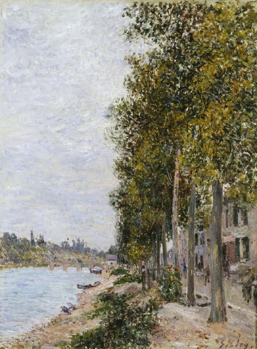 Альфред Сислей - мастер лирического пейзажа (480 работ) (2 часть)