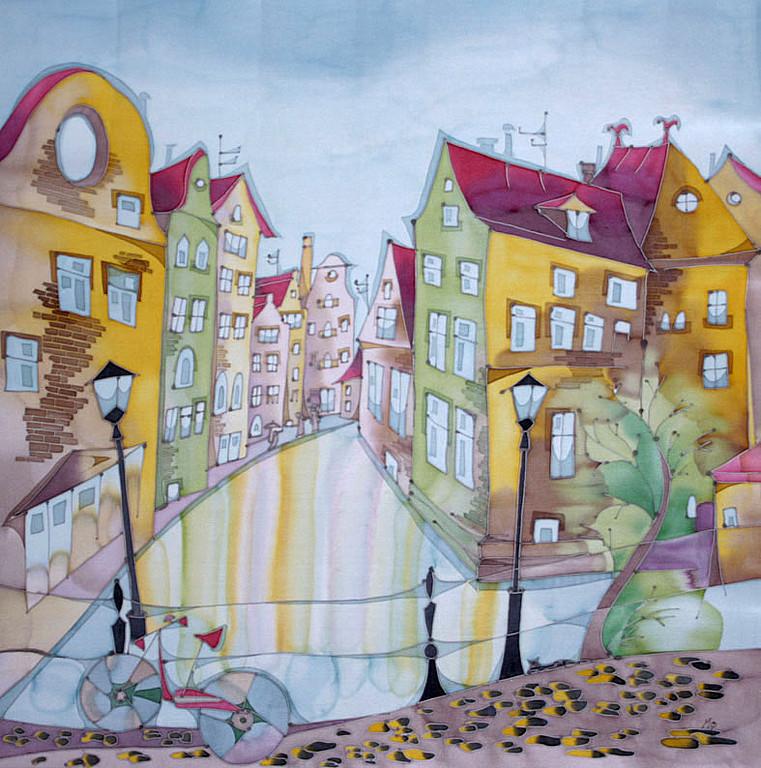 картинки город для батика фото фальшстена