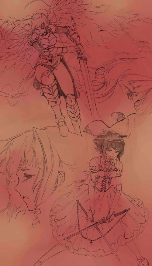 Дэвид Лиу (David Liu): американский аниме-иллюстратор (145 работ)