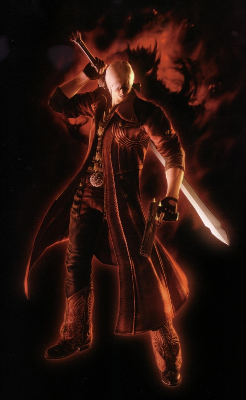 Devil May Cry 4 Material Collection Artbook (159 работ)