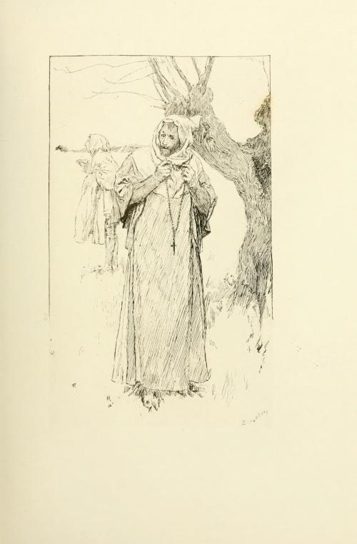 Edwin Austin Abbey (1852-1911) (144 работ) (4 часть)