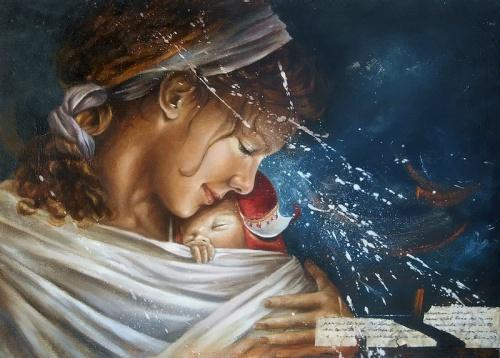 Claudia Giraudo. Паутинка взгляда (33 работ)