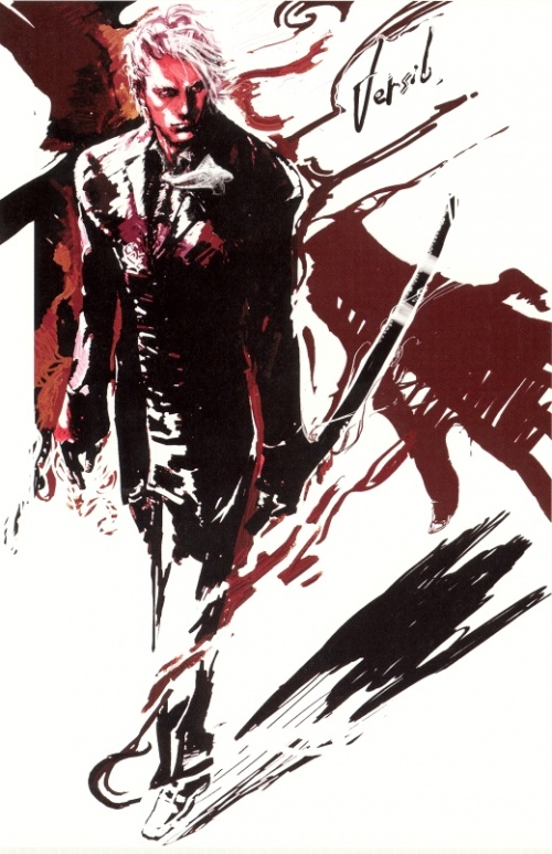 Devil May Cry Graphic Edition (ArtBook) (91 работ)