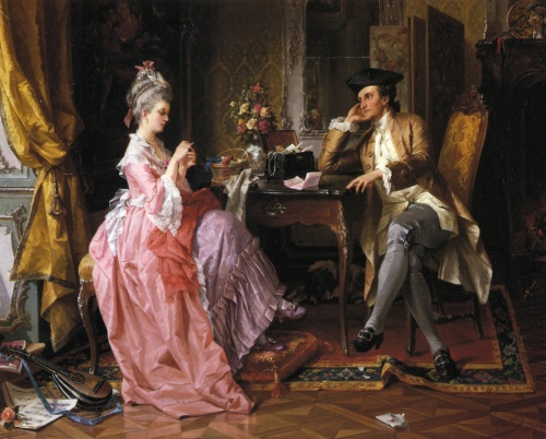 Немецкий художник Carl Herpfer (1836-1897) (24 работ)