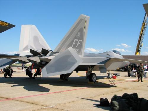 Американский истребитель - 22A Raptor (82 фото)