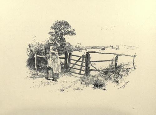 Edwin Austin Abbey (1852-1911) (85 работ) (9 часть)