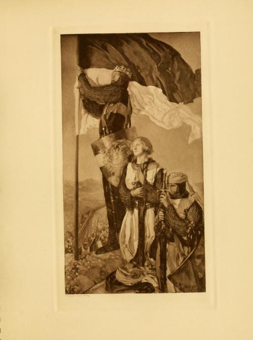 Edwin Austin Abbey (1852-1911) (28 работ) (5 часть)