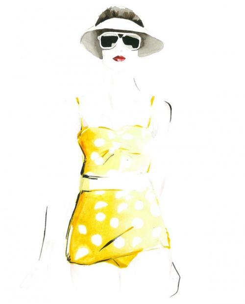Christian David Moore - Fashion Illustration (39 работ)