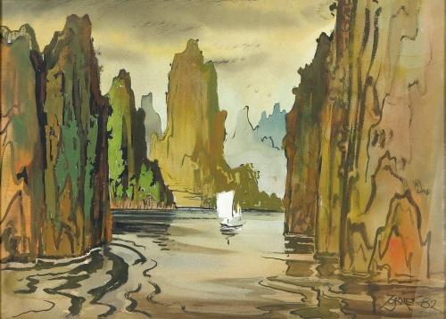Живопись - Творчество Милфорда Зорнса (55 работ)
