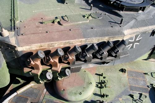 Немецкий основной танк Leopard 2A6 (74 фото)