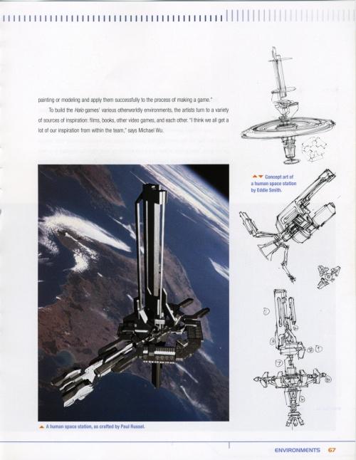The art of Halo. Creating a virtual World (ArtBook) (110 работ) (1 часть)