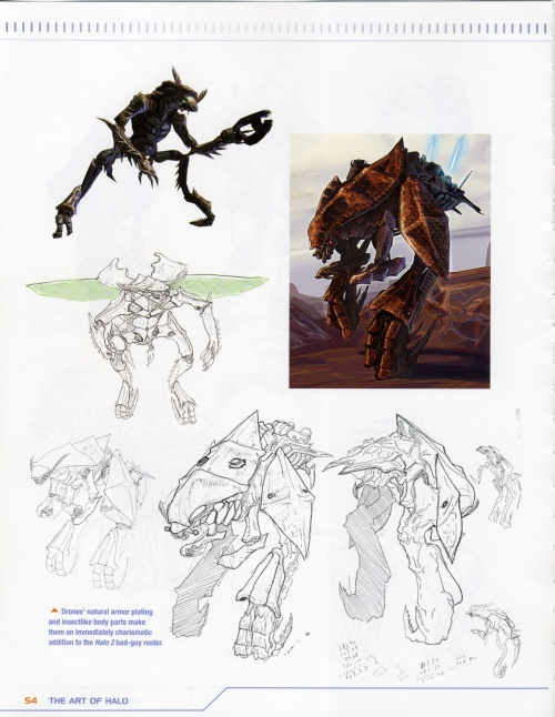 The art of Halo. Creating a virtual World (ArtBook) (110 работ) (1 часть)