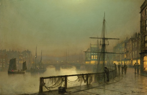 The Art of John Atkinson Grimshaw (141 работ)