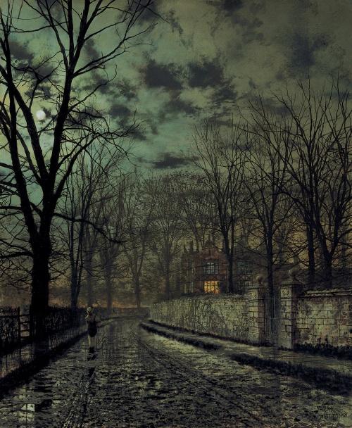 The Art of John Atkinson Grimshaw (141 работ)