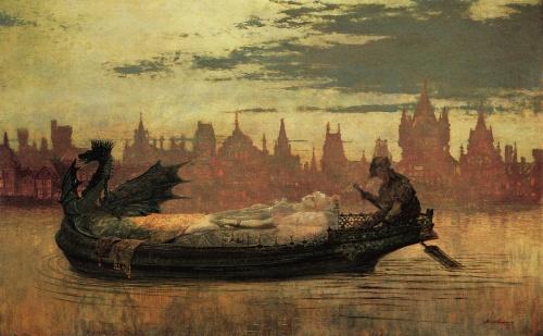 Живопись - Творчество Джона Эткинсона Гримшоу (141 работ)