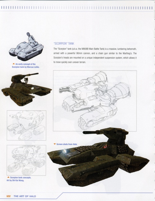 The art of Halo. Creating a virtual World (ArtBook) (69 работ) (2 часть)